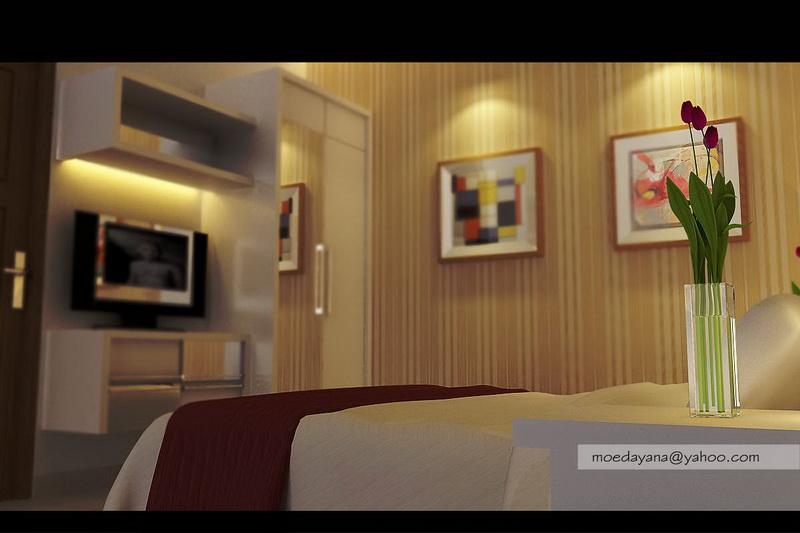 Desain Interior Modern Minimalist Perumahan Ayodya Citra 2